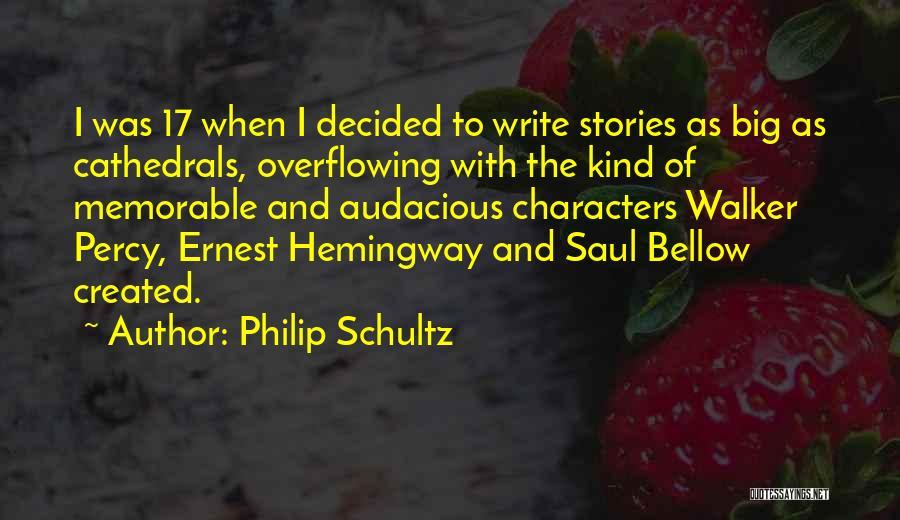 Percy Quotes By Philip Schultz