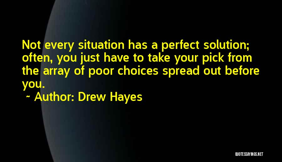 Perfect Life Quotes By Drew Hayes