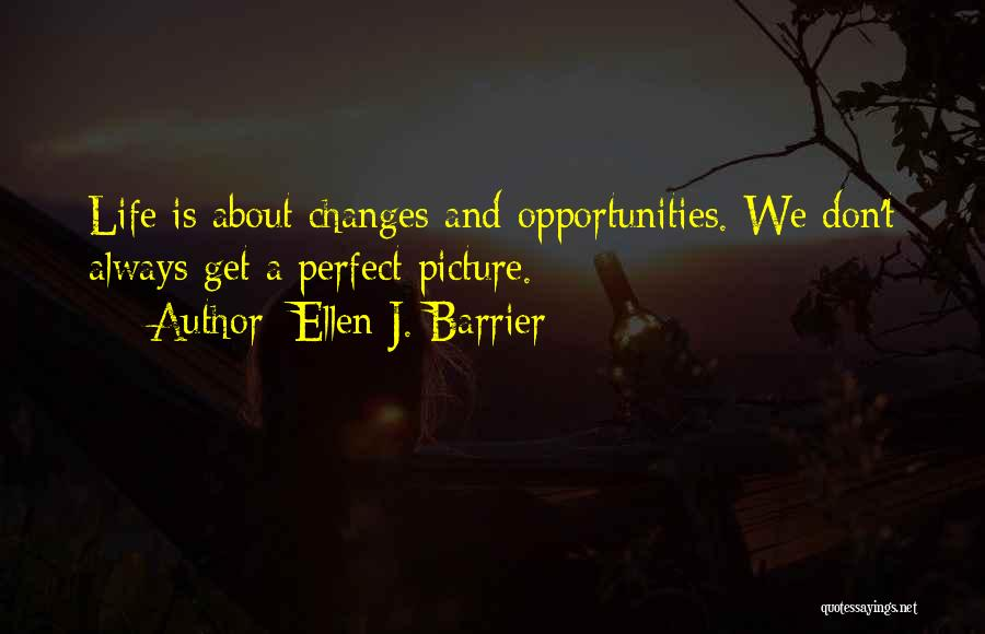 Perfect Life Quotes By Ellen J. Barrier