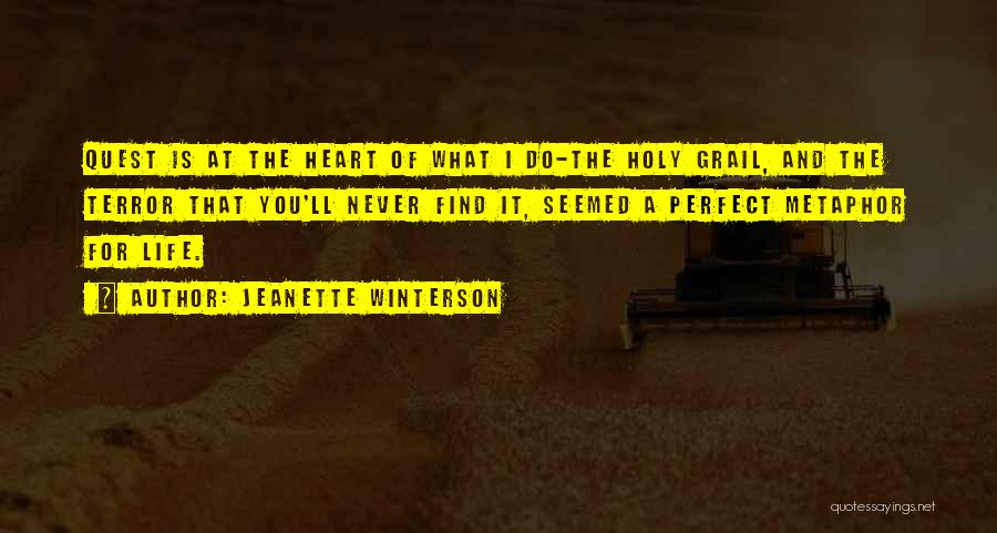 Perfect Life Quotes By Jeanette Winterson