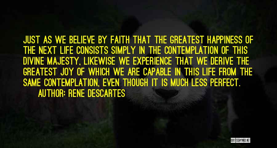 Perfect Life Quotes By Rene Descartes