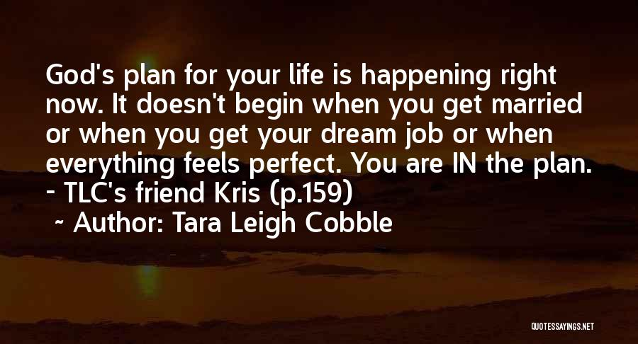 Perfect Life Quotes By Tara Leigh Cobble