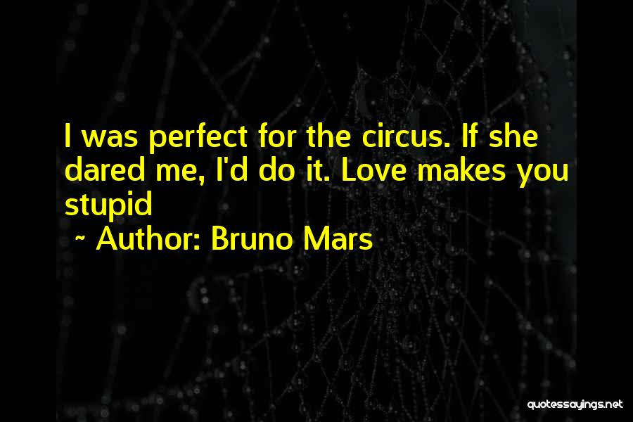 Perfect Love Quotes By Bruno Mars
