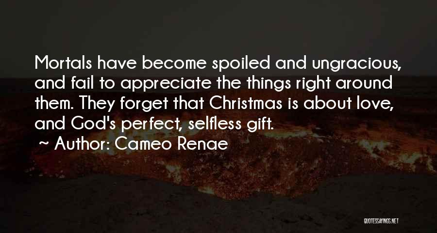 Perfect Love Quotes By Cameo Renae
