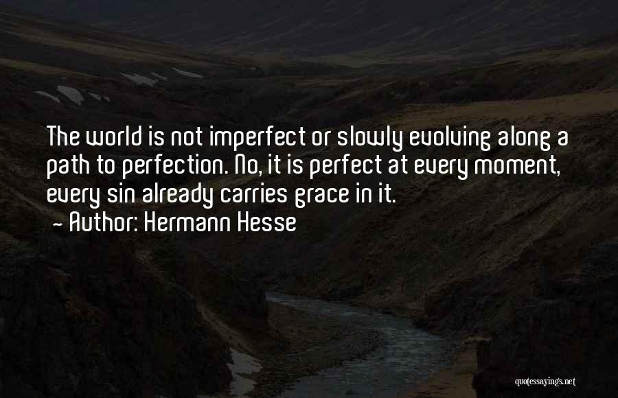 Perfect Love Quotes By Hermann Hesse