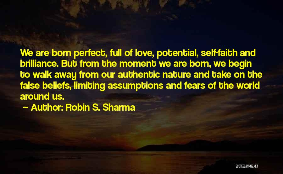 Perfect Love Quotes By Robin S. Sharma