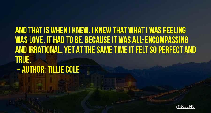 Perfect Love Quotes By Tillie Cole