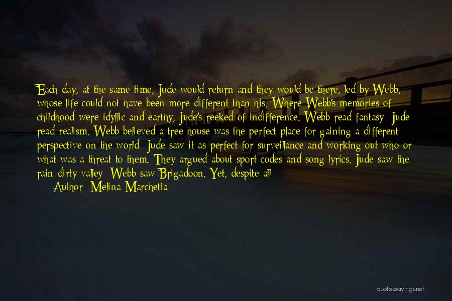 Perfect Time For Everything Quotes By Melina Marchetta