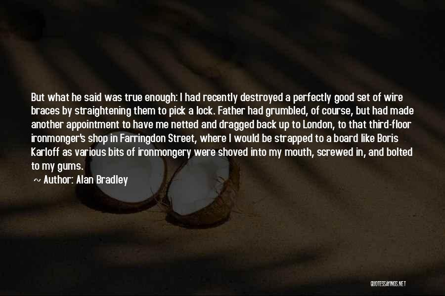 Perfectly Made Quotes By Alan Bradley