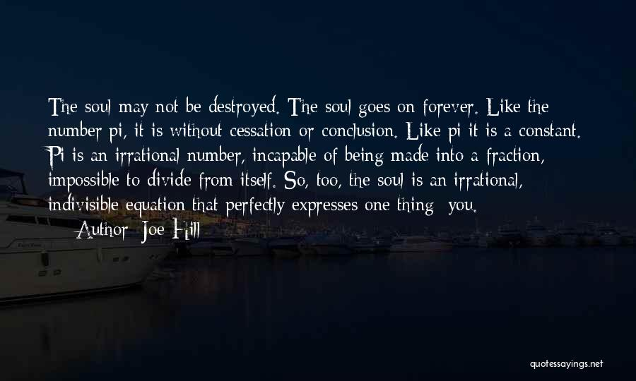 Perfectly Made Quotes By Joe Hill