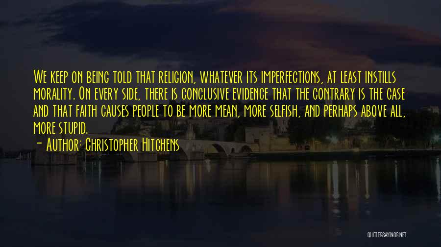 Perhaps Quotes By Christopher Hitchens
