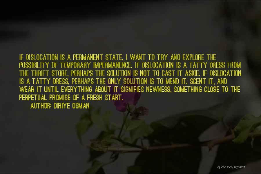 Perhaps Quotes By Diriye Osman