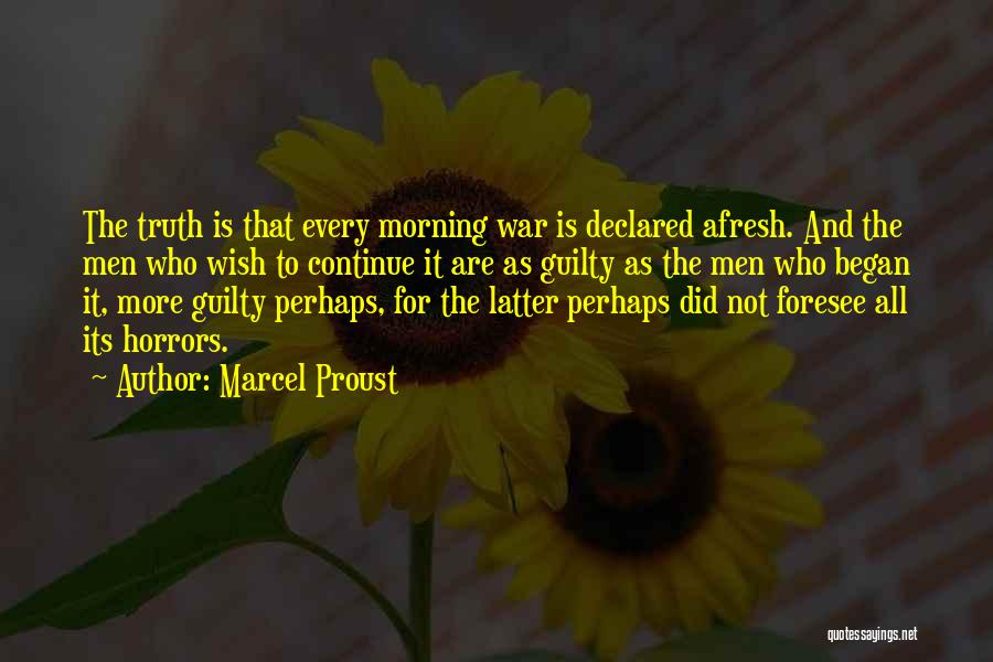 Perhaps Quotes By Marcel Proust