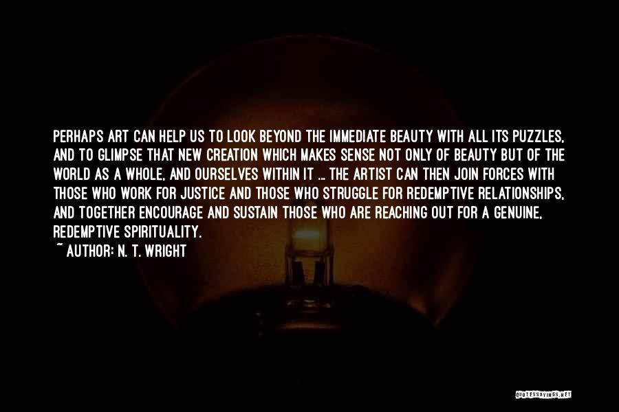 Perhaps Quotes By N. T. Wright