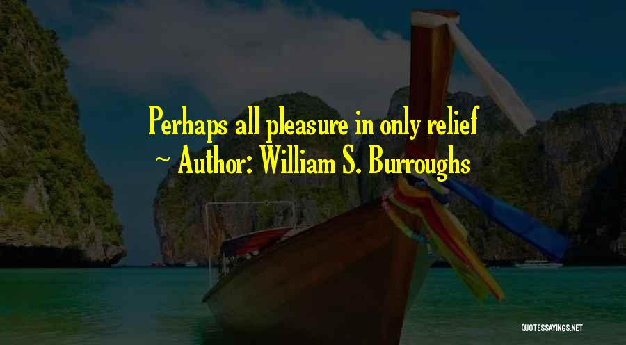 Perhaps Quotes By William S. Burroughs