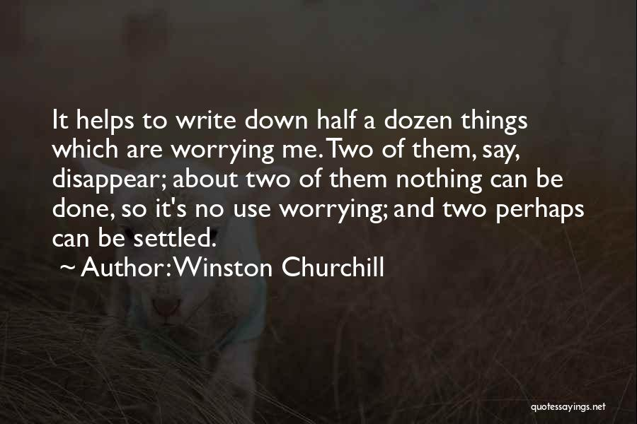 Perhaps Quotes By Winston Churchill