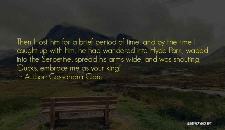 Period Then Quotes By Cassandra Clare