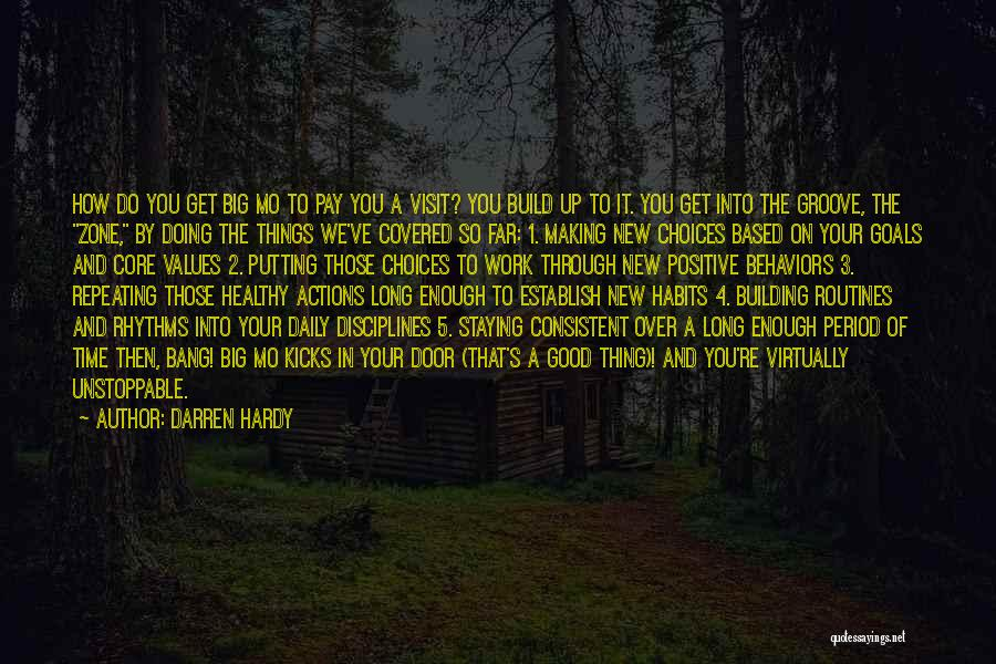 Period Then Quotes By Darren Hardy
