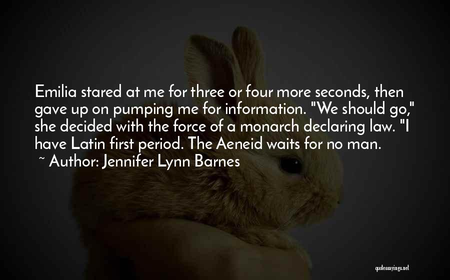 Period Then Quotes By Jennifer Lynn Barnes