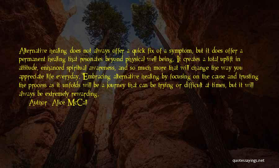 Permanent Change Quotes By Alice McCall