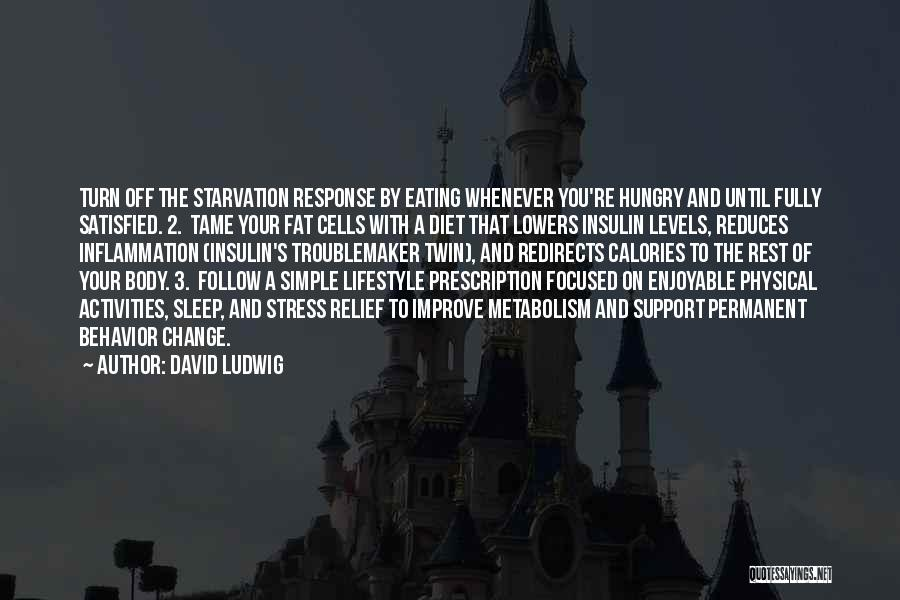 Permanent Change Quotes By David Ludwig