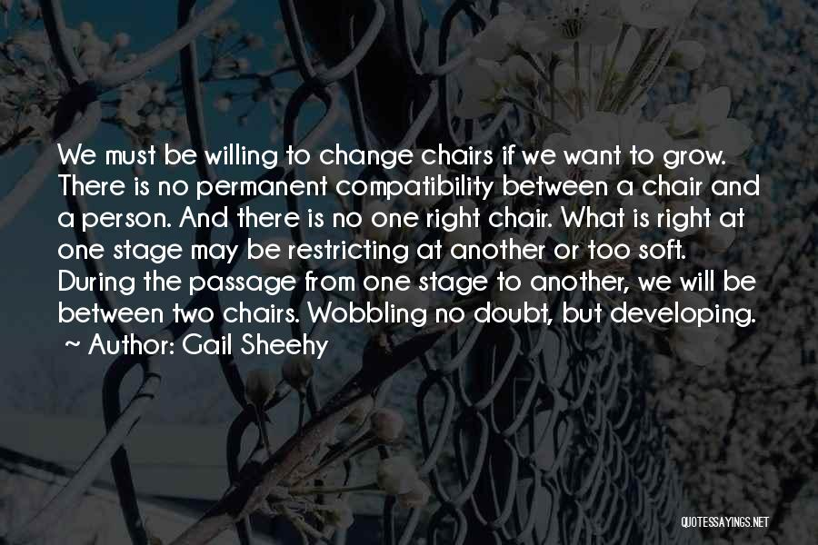 Permanent Change Quotes By Gail Sheehy