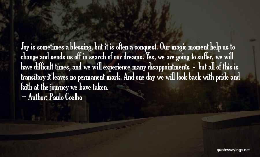 Permanent Change Quotes By Paulo Coelho