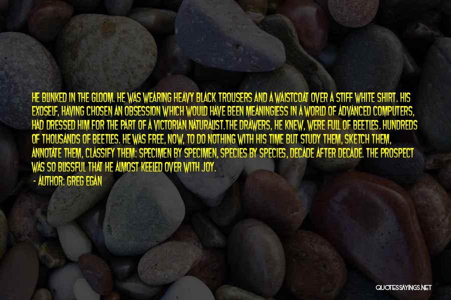 Permutation City Quotes By Greg Egan