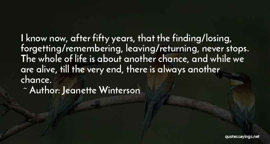 Perseverance And Determination Quotes By Jeanette Winterson