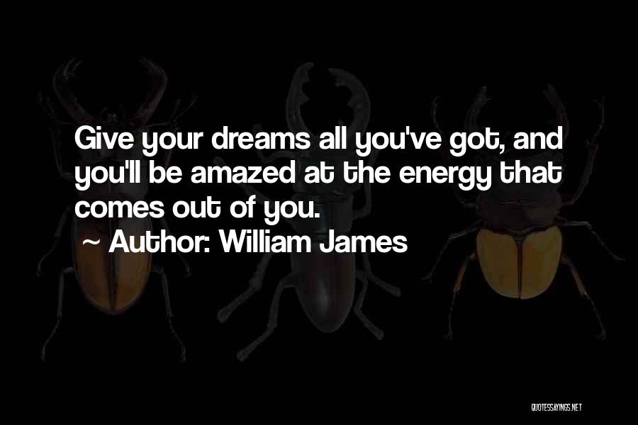 Perseverance In Basketball Quotes By William James