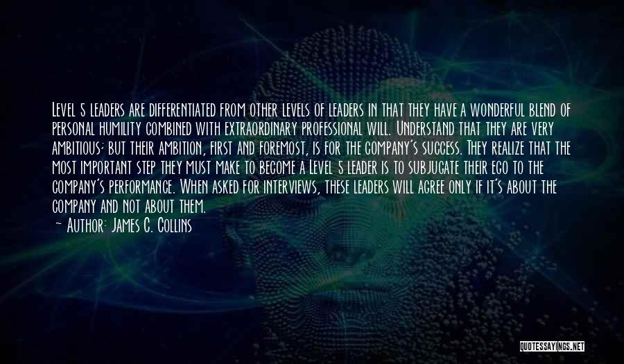 Personal Interviews Quotes By James C. Collins