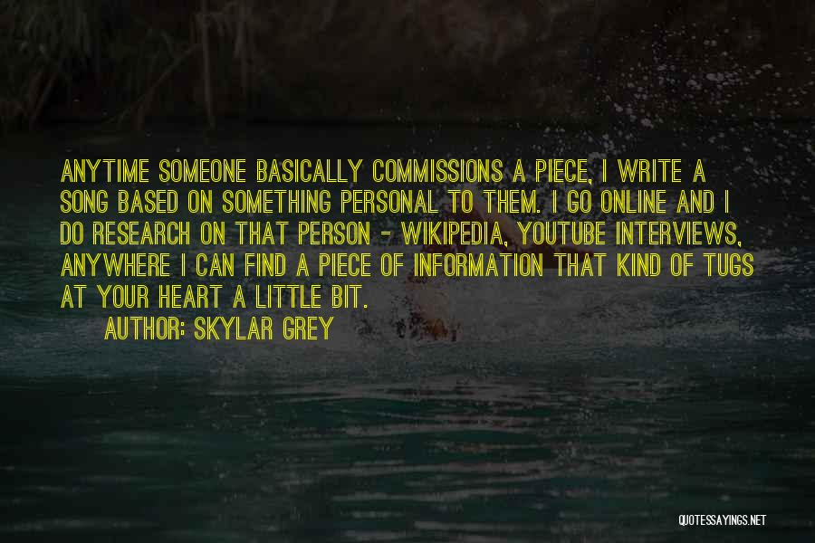 Personal Interviews Quotes By Skylar Grey