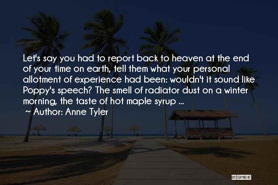 Personal Taste Quotes By Anne Tyler
