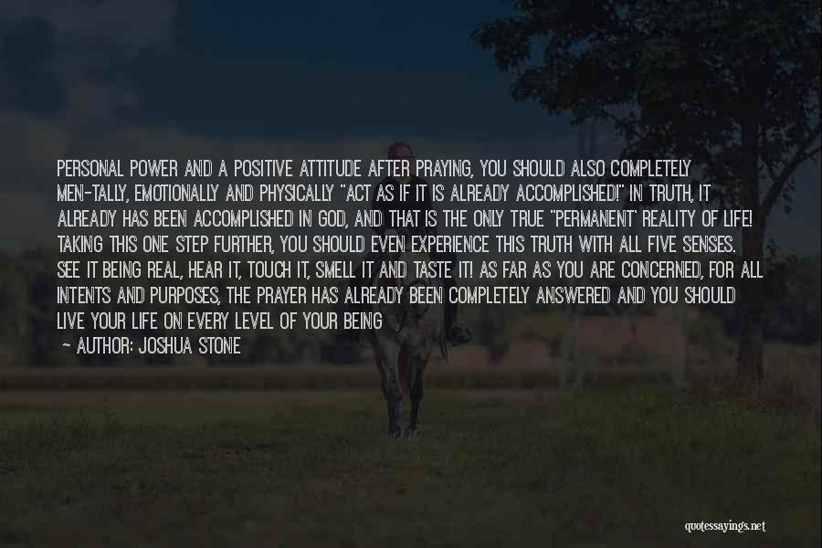 Personal Taste Quotes By Joshua Stone