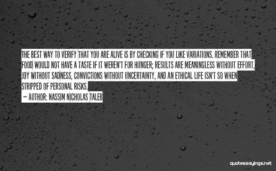 Personal Taste Quotes By Nassim Nicholas Taleb