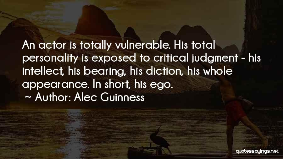 Personality And Appearance Quotes By Alec Guinness