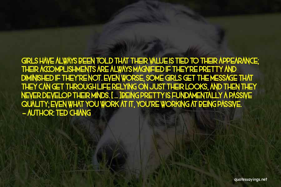 Personality And Appearance Quotes By Ted Chiang