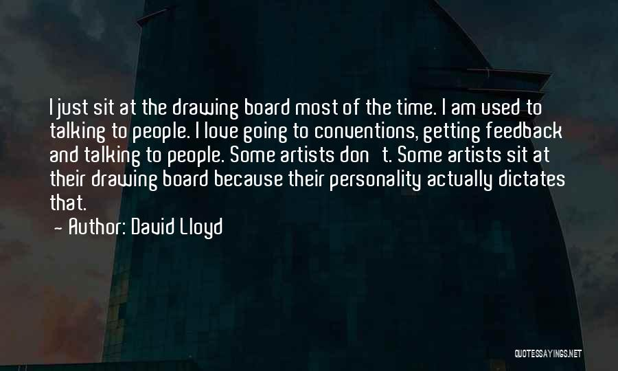 Personality And Love Quotes By David Lloyd
