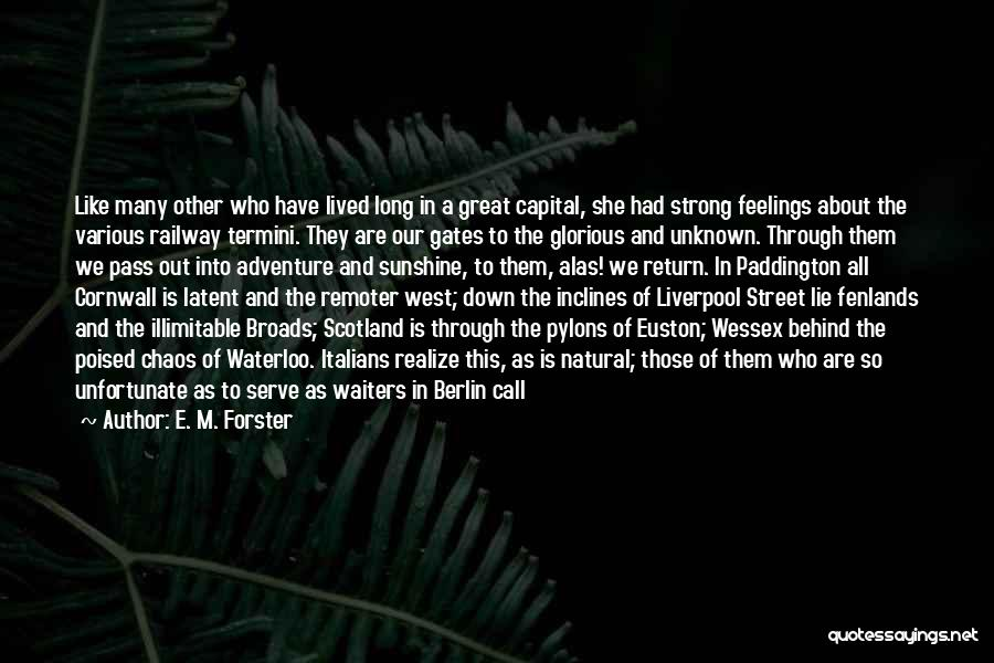 Personality And Love Quotes By E. M. Forster