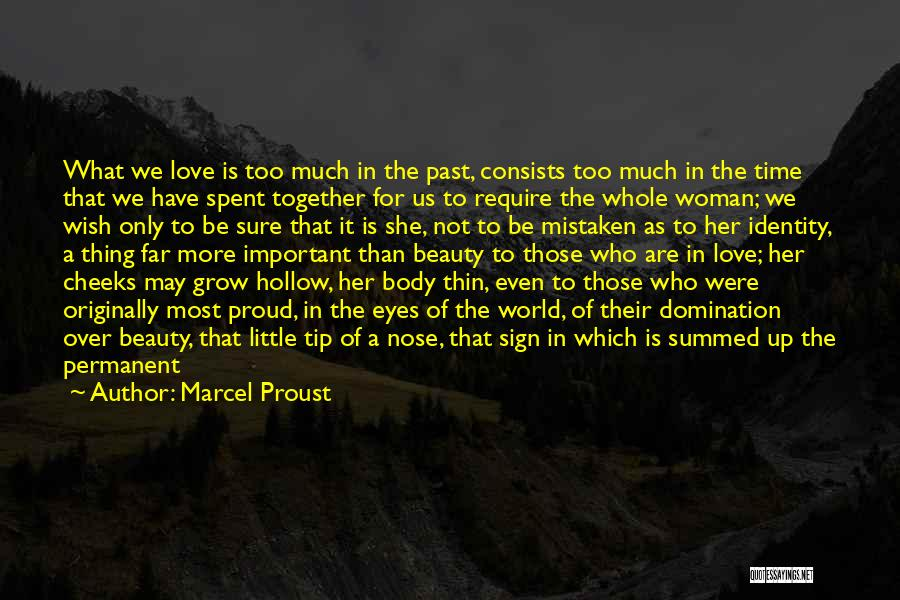 Personality And Love Quotes By Marcel Proust