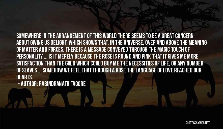 Personality And Love Quotes By Rabindranath Tagore