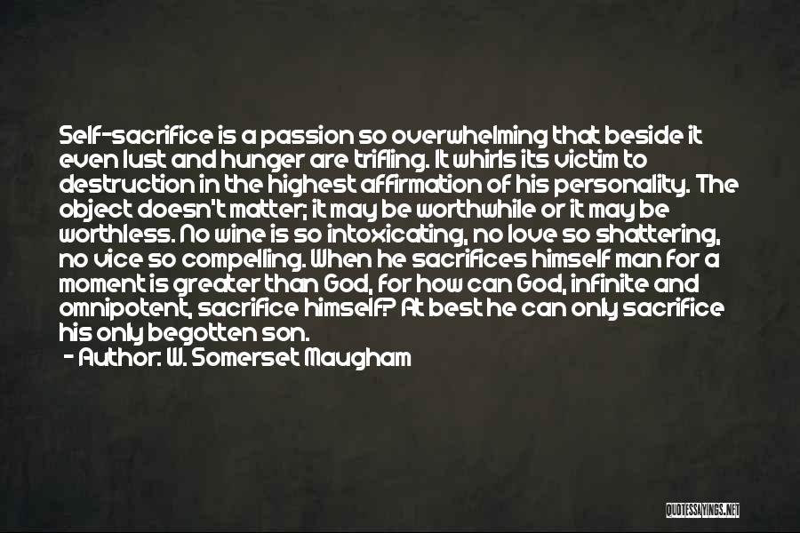 Personality And Love Quotes By W. Somerset Maugham