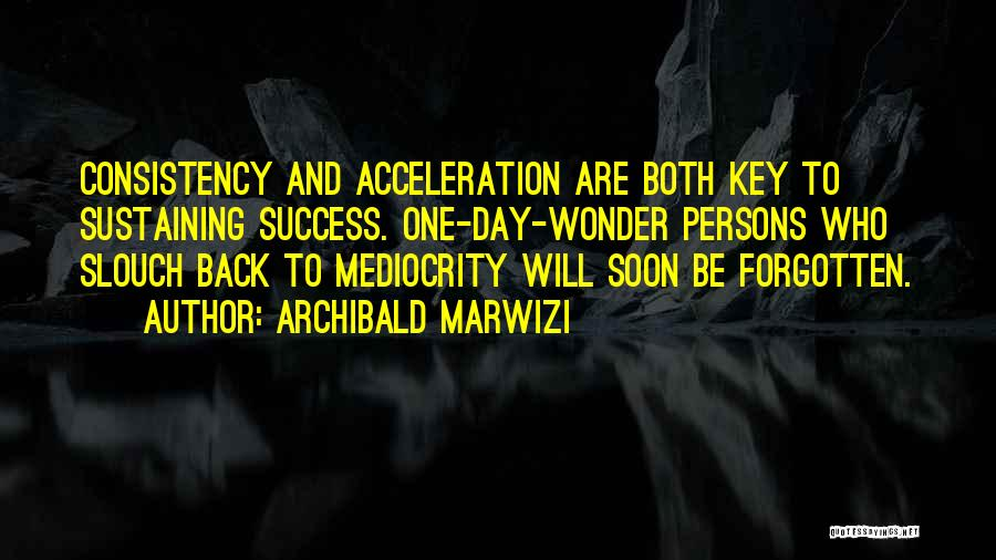 Persons Attitude Quotes By Archibald Marwizi