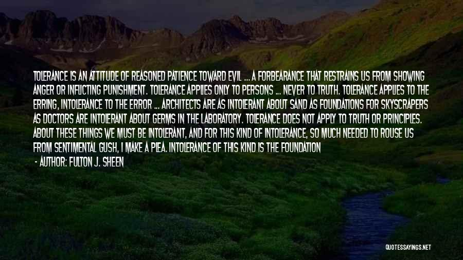 Persons Attitude Quotes By Fulton J. Sheen