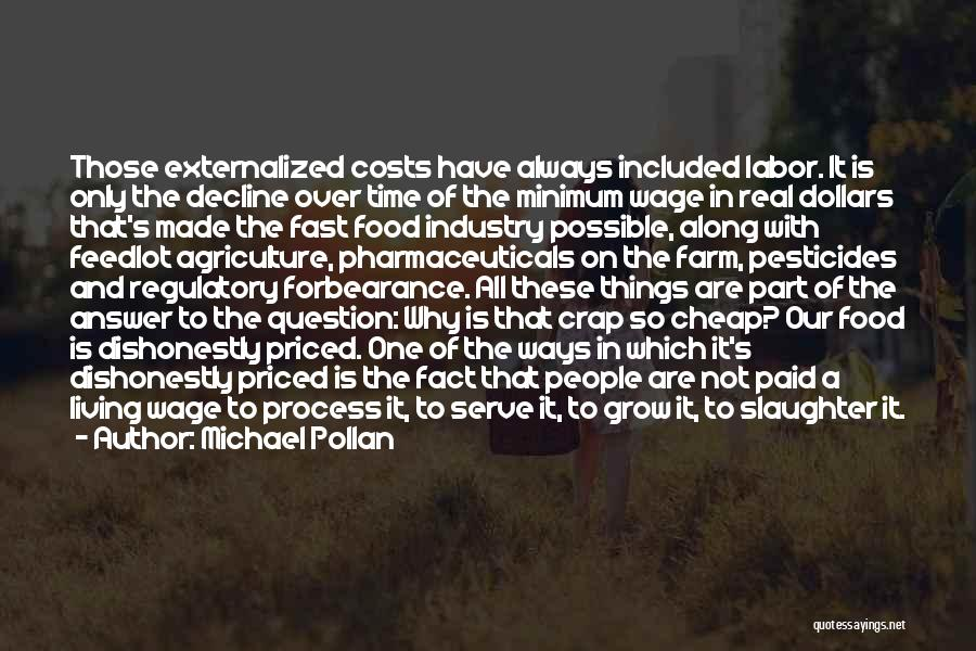 Pesticides In Food Quotes By Michael Pollan