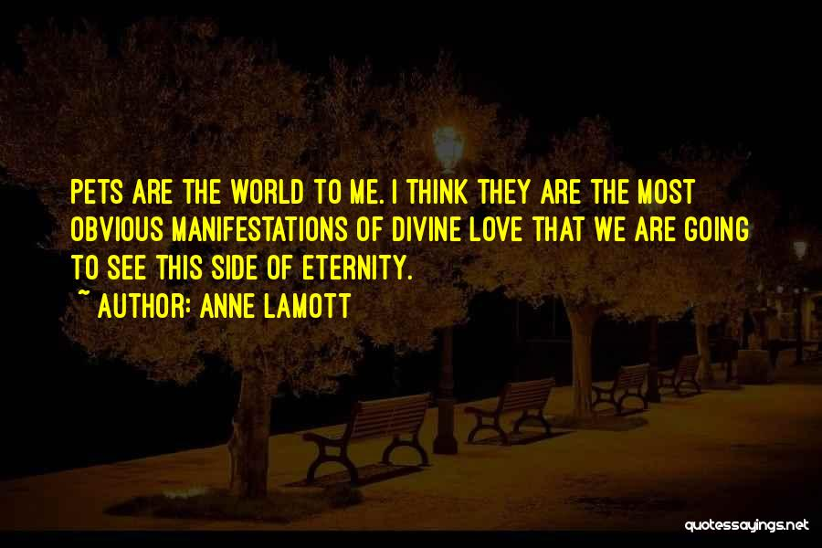 Pet Love Quotes By Anne Lamott