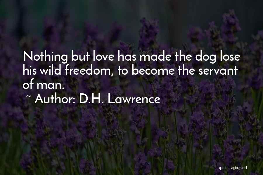 Pet Love Quotes By D.H. Lawrence
