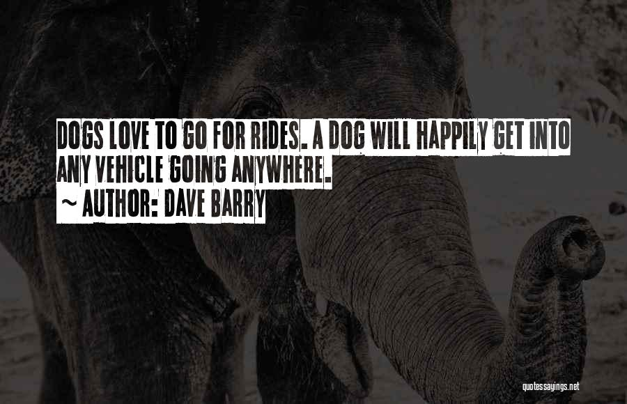 Pet Love Quotes By Dave Barry