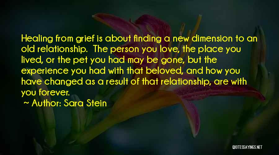 Pet Love Quotes By Sara Stein