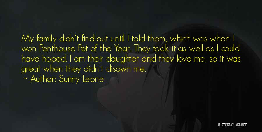 Pet Love Quotes By Sunny Leone